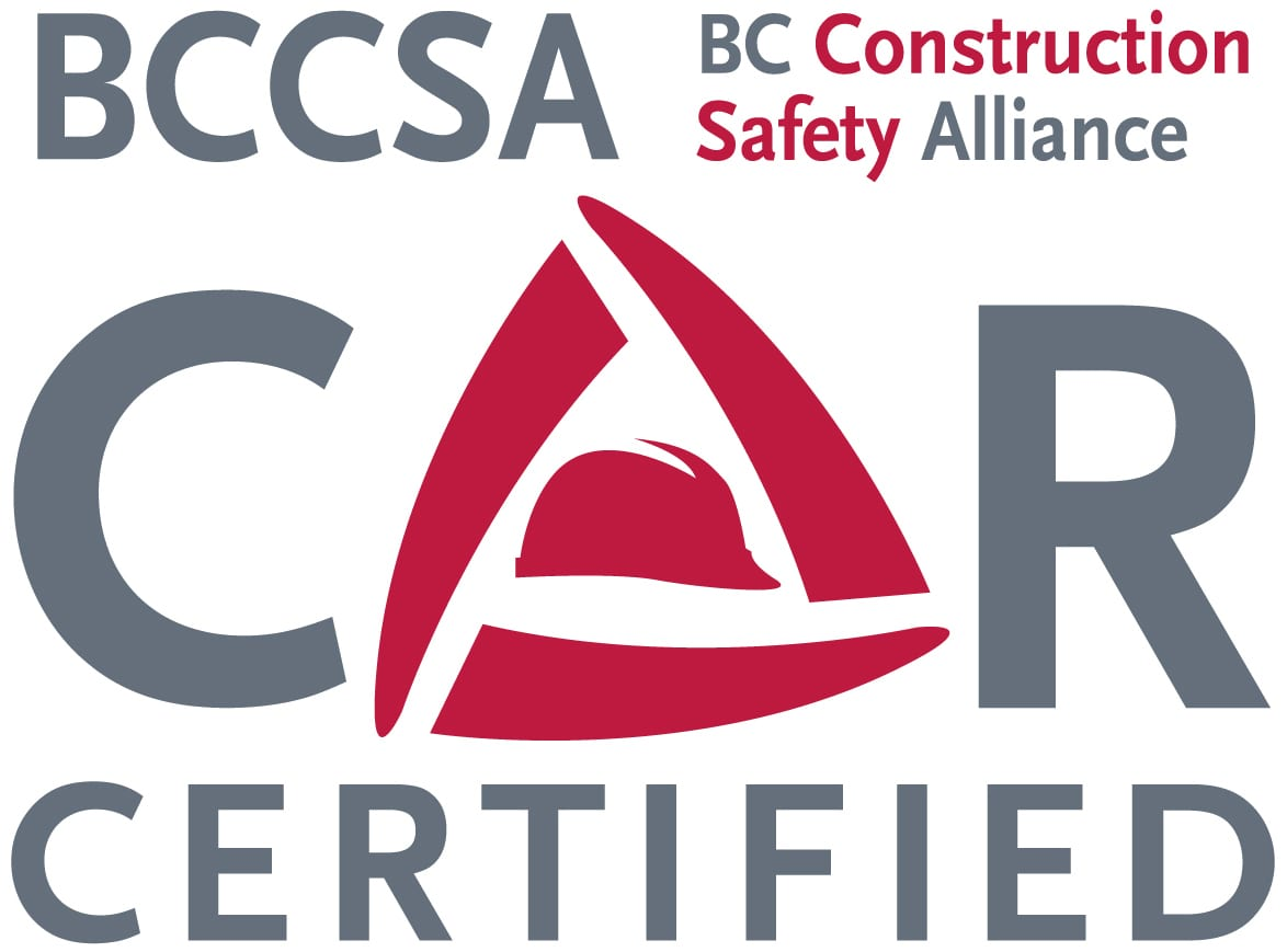 Grandview Blacktop has BC Construction Safety Alliance Certified company