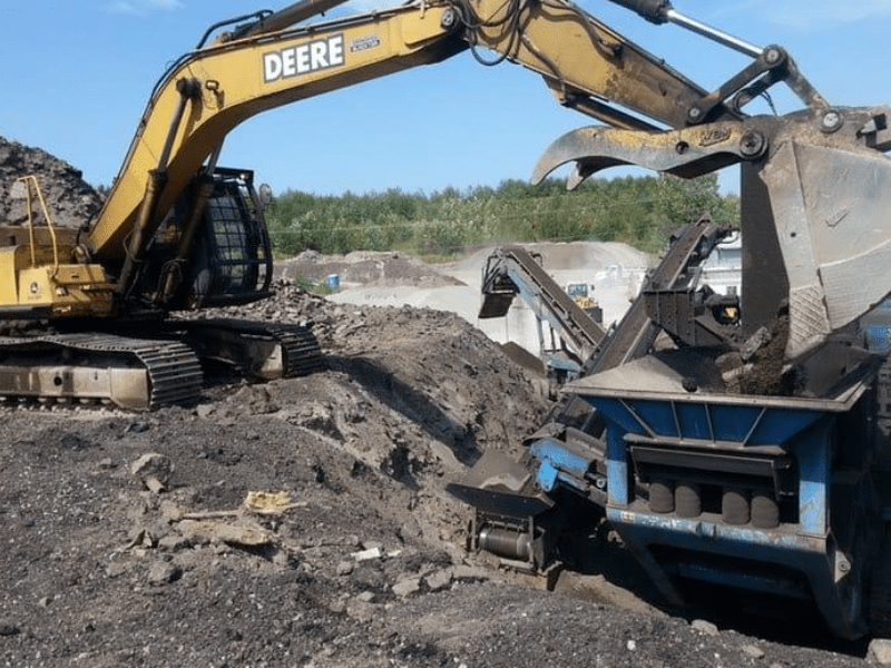 We do recycled for asphalt and protect the environment