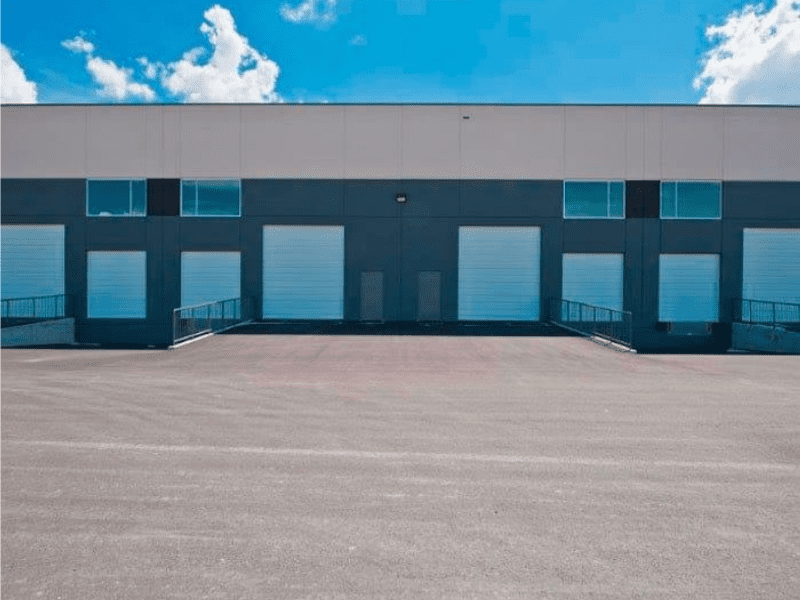new industrial parking lot paving project in Golden Ears
