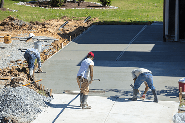 our concrete flatwork contractors can help your do company or industry driveway in Vancouver