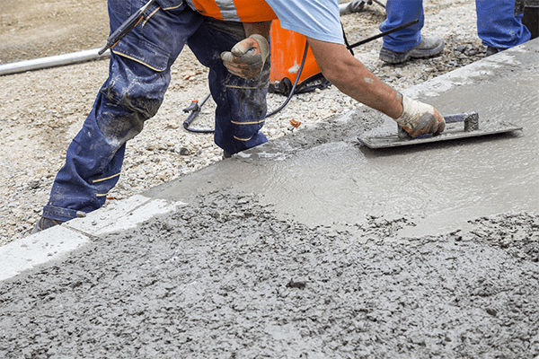 our concrete works include flatting your sidewalk